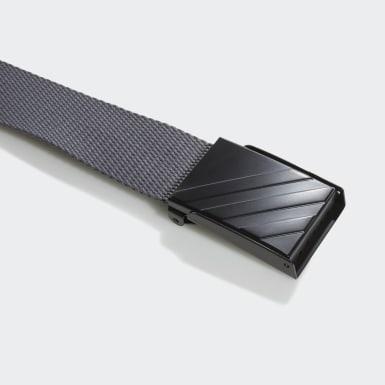 Men Golf Grey Webbing Belt