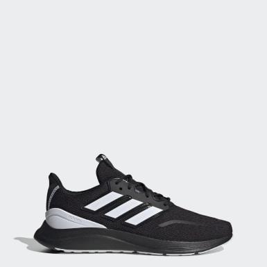 Men Running Black Energyfalcon Shoes