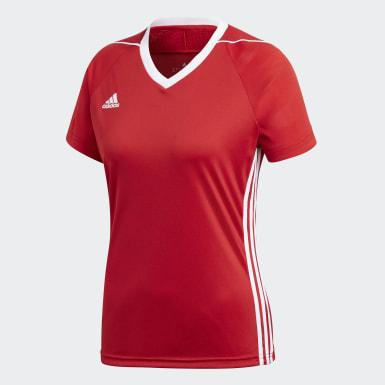 Playera Tiro 17 Rojo Mujer Fútbol