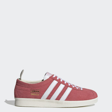 Men Originals Pink Gazelle Vintage Shoes
