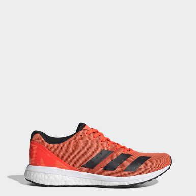 Women's Running Orange Adizero Boston 8 Shoes