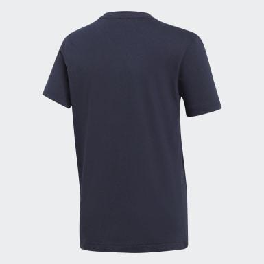 Must Haves  T-shirt Badge of Sport Bleu Garçons Training
