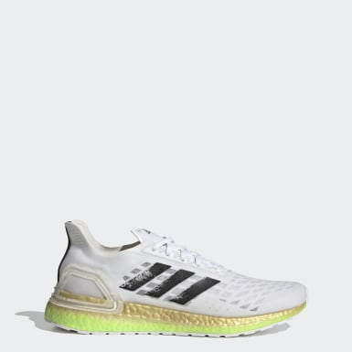 Men Running White Ultraboost PB Shoes