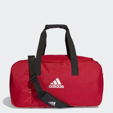 Fußball Tiro Duffelbag S Rot