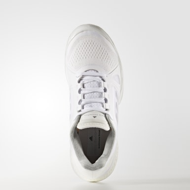 белый Кроссовки для тенниса adidas by Stella McCartney Barricade Boost 2017