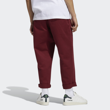Men Originals Burgundy Jonah Hill Chino Pants