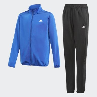 Conjunto adidas Essentials Azul Niño Diseño Deportivo