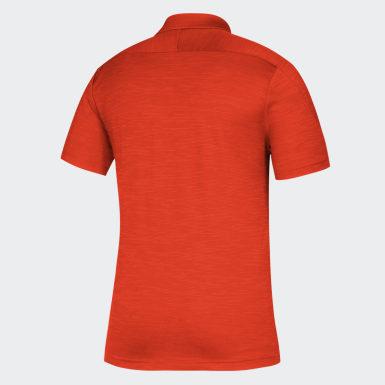 Men's Athletics Multicolor Hurricanes Game Mode Coach Polo Shirt