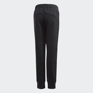 Pantalon adidas Z.N.E. Relaxed Noir Filles Training