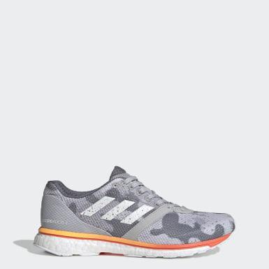 Sapatos Adizero Adios 4 Cinzento Mulher Running