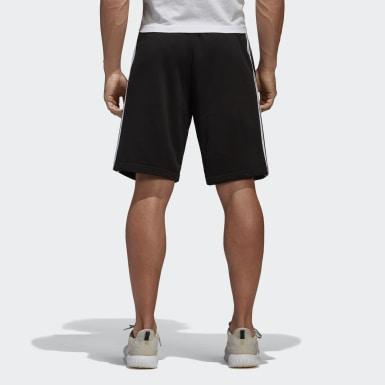 Shorts Essentials 3-Tiras Negro Hombre Training