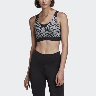 Women Running Grey Don't Rest Iterations Bra