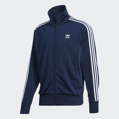 Mænd Originals Blå Firebird træningsjakke