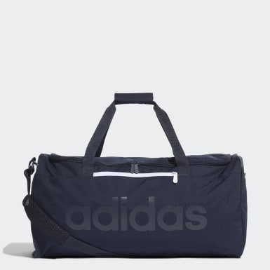 Athletics Blue Linear Core Duffel Bag Medium