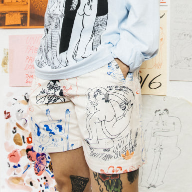 Originals Beige Unity (kønsneutrale) shorts