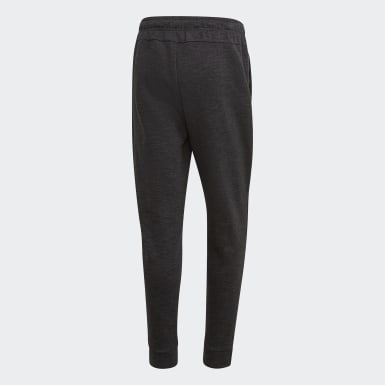 Pants ID Stadium Negro Hombre Athletics