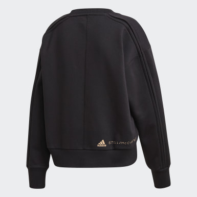 Frauen adidas by Stella McCartney Sweatshirt Schwarz