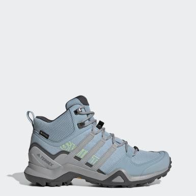 Chaussure de randonnée Terrex Swift R2 Mid GORE-TEX Bleu Femmes TERREX