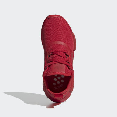 Chaussure NMD_R1 rouge Adolescents Originals