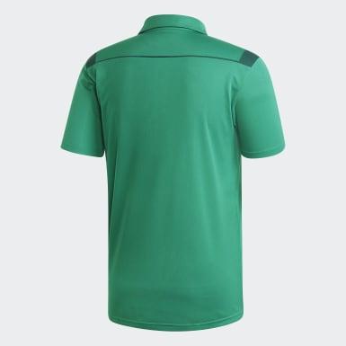 зеленый Футболка-поло Tiro 19 Clima