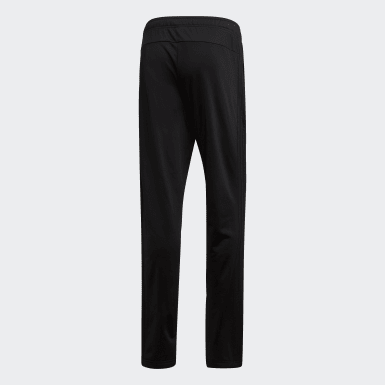 Men Training Black Essentials 3-Stripes Tapered Pants