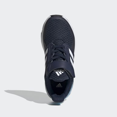 Chaussure FortaFaito Top Strap Bleu Enfants Running
