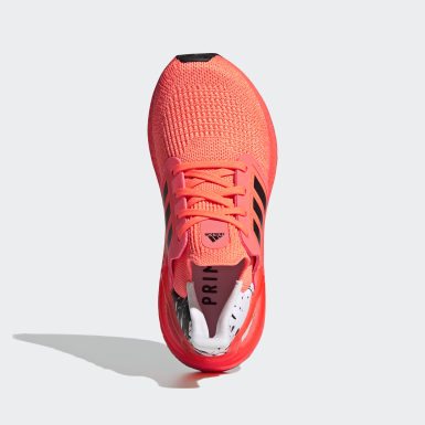 Youth Running Orange Ultraboost 20 Shoes