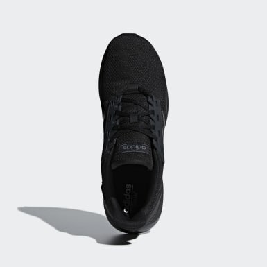 Men Running Black Duramo 9 Shoes