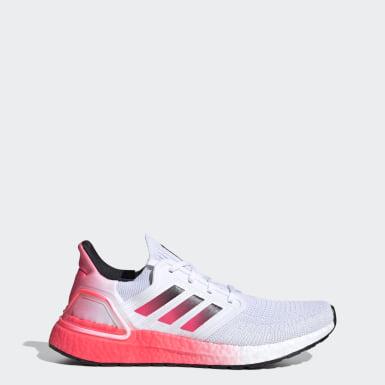 Heren Hardlopen Wit Ultraboost 20 Schoenen