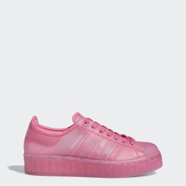 Sapatos Superstar Jelly Rosa Mulher Originals