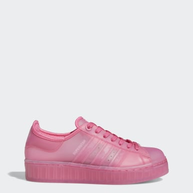 Frauen Originals Superstar Jelly Schuh Rosa