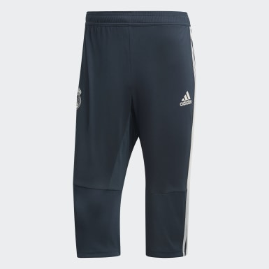 Pants 3/4 Real Madrid Gris Hombre Fútbol