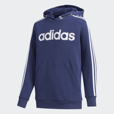 Jungen Athletics Core Favorites Hoodie Blau