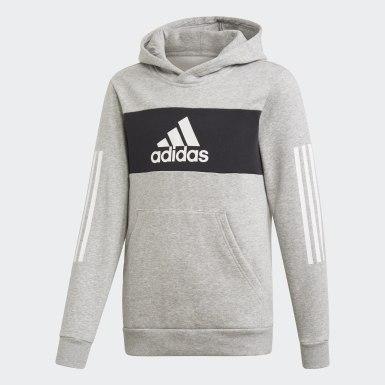 Youth 8-16 Years Training Grey Sport ID Sweatshirt