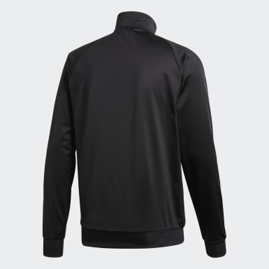 Men Training Black Core 18 Track Top