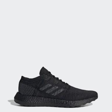 Men Running Black Pureboost Go Shoes