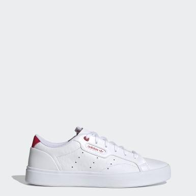 Ženy Originals biela adidas SLEEK W