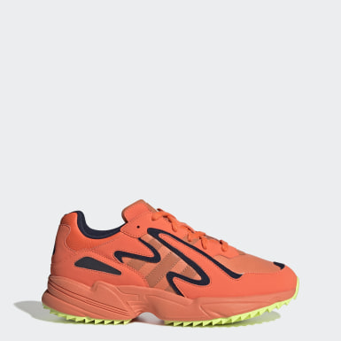 Men Originals Orange Yung-96 Chasm Trail Shoes