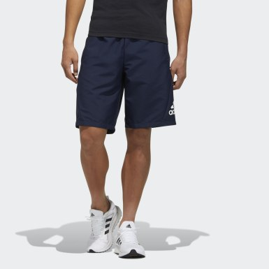 Men Athletics Blue Must Haves Woven Shorts