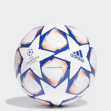 Football White UCL Finale 20 Pro Sala Ball