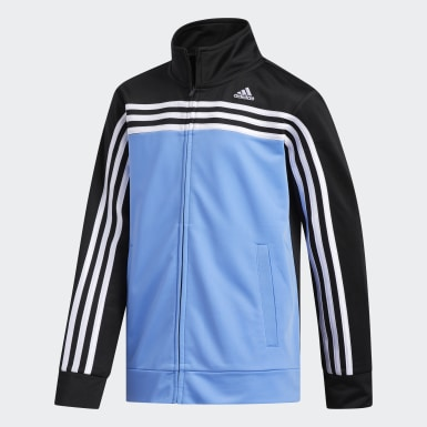 Youth Training Black Colorblock Tricot Jacket