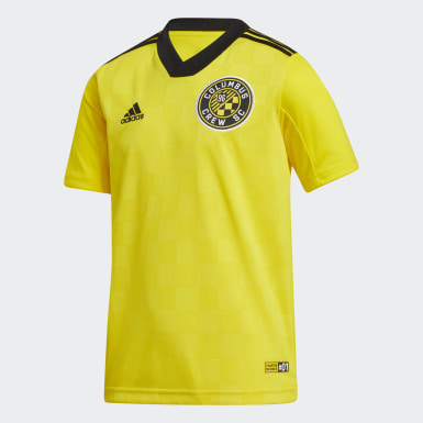 Youth Soccer Yellow Columbus Crew SC Home Jersey