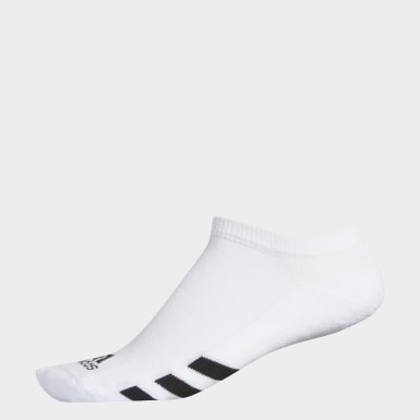 Herr Golf Vit Single No-Show Socks