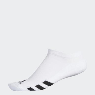 Mænd Golf Hvid Single No-Show sokker