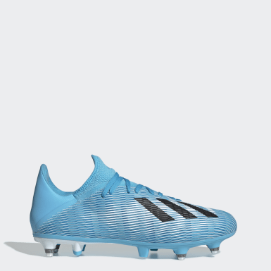 Scarpe da calcio X 19.3 Soft Ground Turchese Donna Calcio