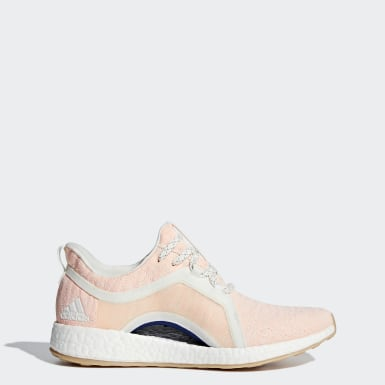 Women Running White Pureboost X Shoes