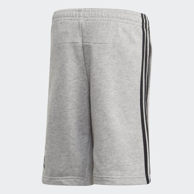 Youth 8-16 Years Training Grey Must Haves Badge of Sport Shorts