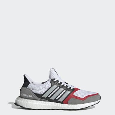 Men Running White Ultraboost S&L Shoes