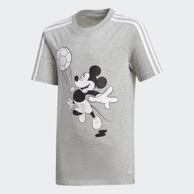 Boys Yoga Grey Football Tee