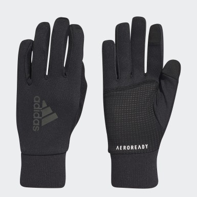 Running Black AEROREADY Running Gloves